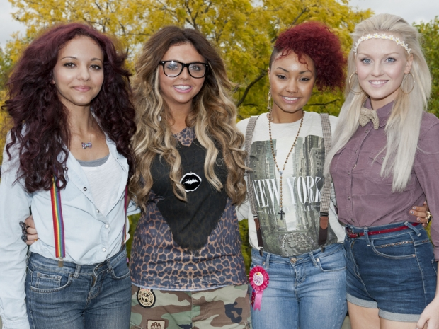 Little Mix on The X Factor in 2011