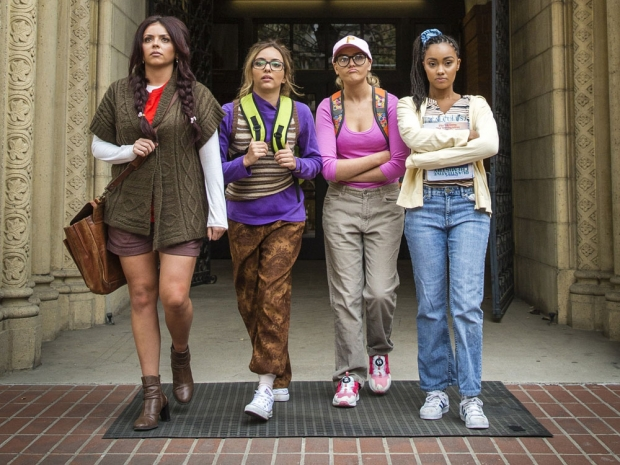 Little Mix in the video for Black Magic