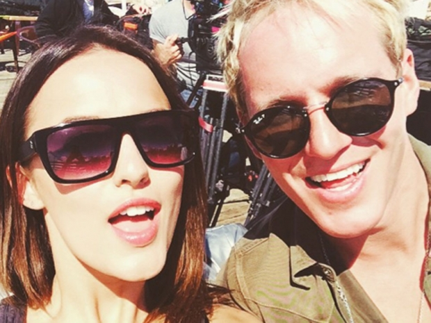 Lucy Watson and Jamie Laing Made In Chelsea