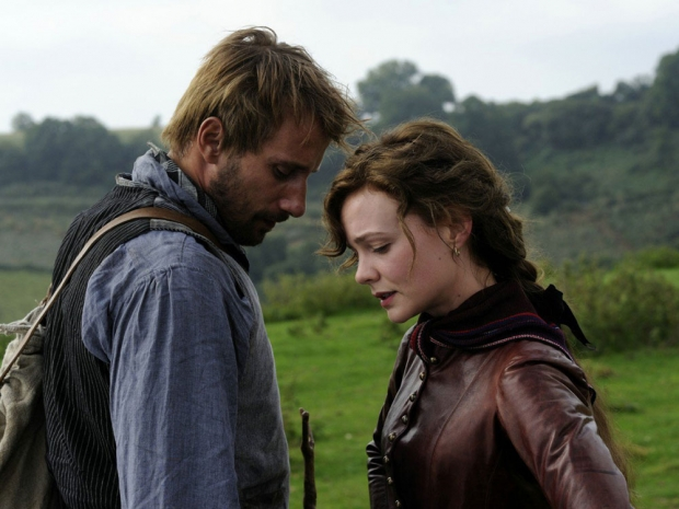 With Carey Muiligan in Far From The Madding Crowd