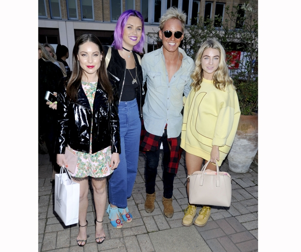 Made In Chelsea's Louise Thompson, Jamie Laing, Jess Woodley and Millie