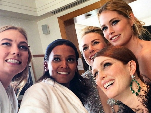 a list selfie at cannes film festival