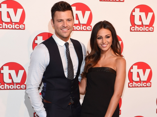 Mark Wright and Michelle Keegan at the TV Choice Awards