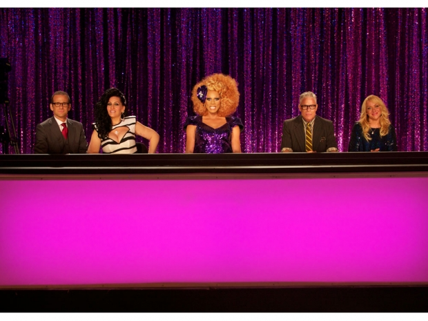 Rupaul's Drag Race judges