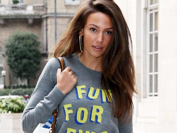 Michelle Keegan out and about