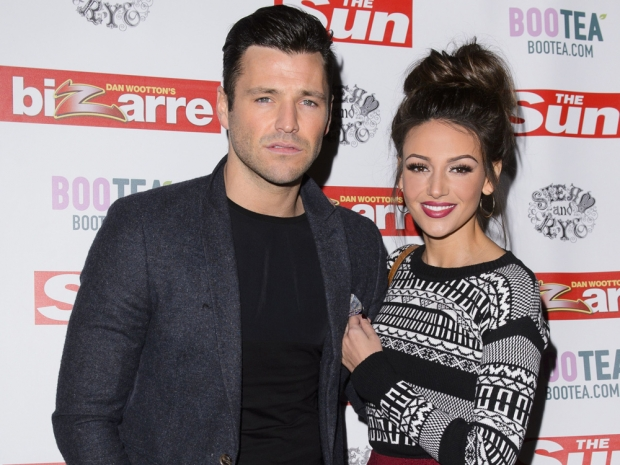 Michelle Keegan and Mark Wright out in London