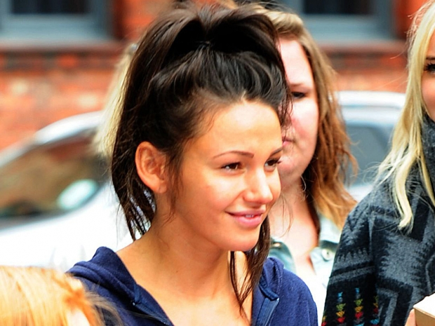 Michelle Keegan with no make-up on