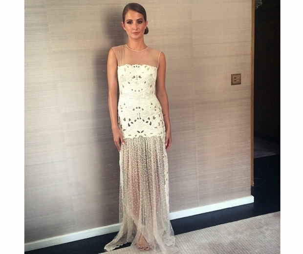 Milie Mackintosh shares an outfit snap before she hits the TV BAFTA red carpet