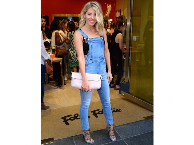 Mollie King at the Follie Follie store launch in London