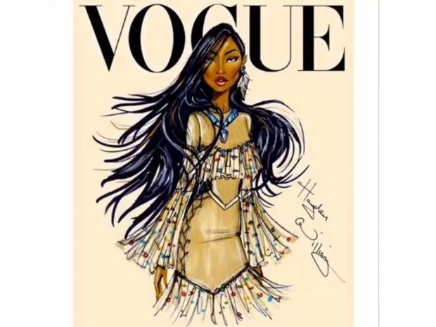 Disney Pocahontas sketch Hayden Williams