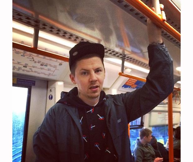 professor green on the tube