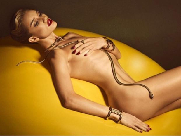 Rosie Huntington-Whiteley Lui Magazine Shoot