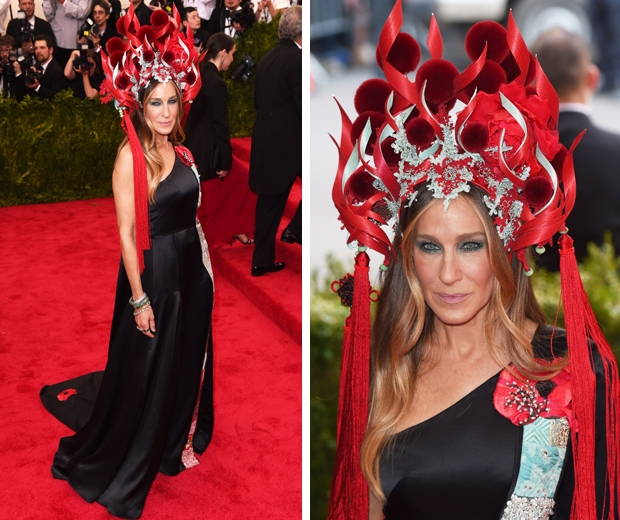 sarah jessica parker in H&M at met gala 2015