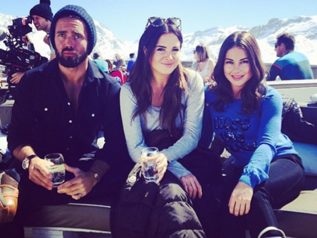 Spencer Matthews, Binky and Louise Thompson from Made In Chelsea