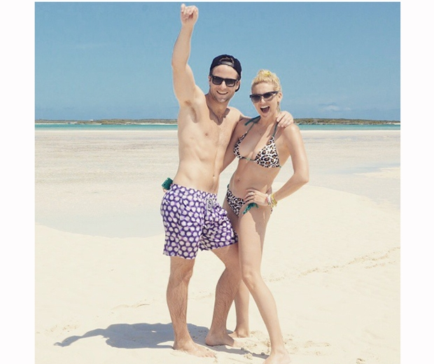 stephanie pratt and boyfriend josh spencer on holiday