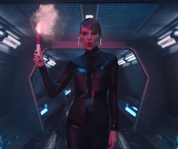 taylor swift leather bad blood video