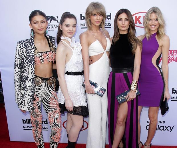 taylor swift and Zendaya, Hailee Steinfeld, Taylor Swift, Lily Aldridge