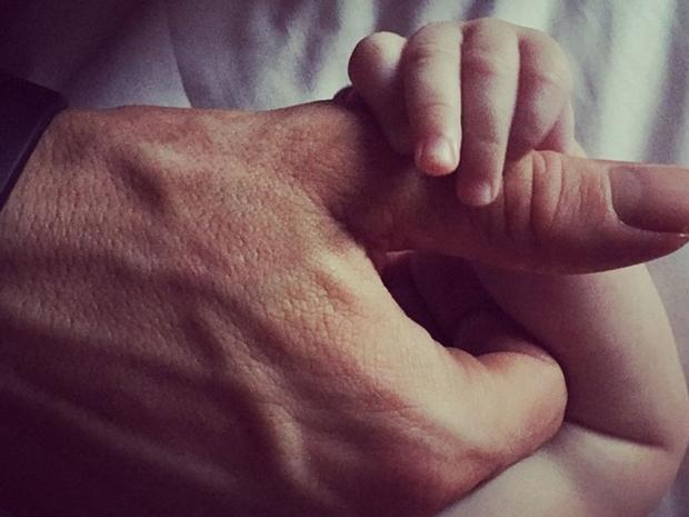 Ryan Reynolds' Instagram with daughter James.