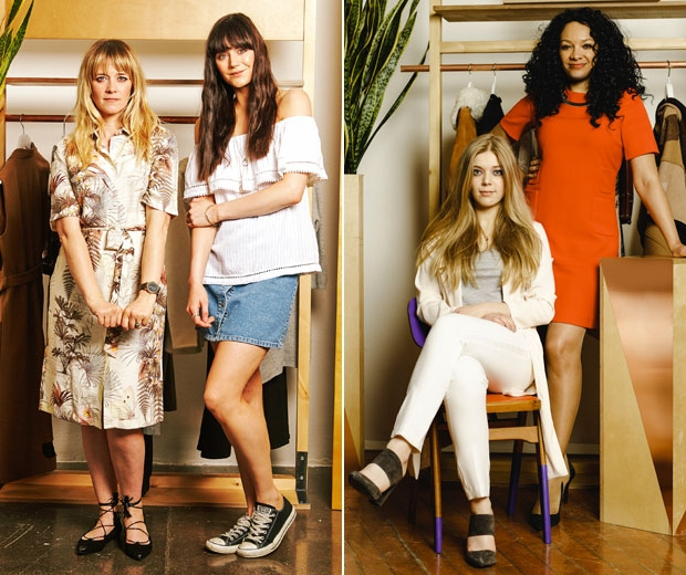Four of the women starring in the Warehouse Women to Watch campaign