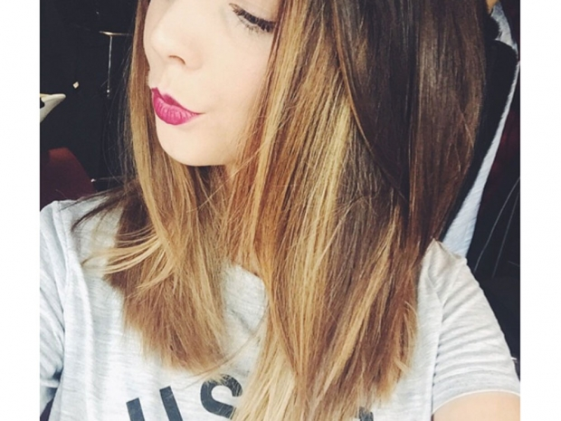 Zoe recently chopped her signature locks in favour of a long bob