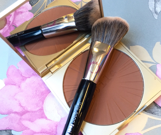 Stila's new Stay All Day Bronzer and Look Good Feel Better Contouring Brush
