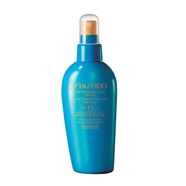 Shiseido Sun Protection Spray Oil-Free SPF15, £23.50