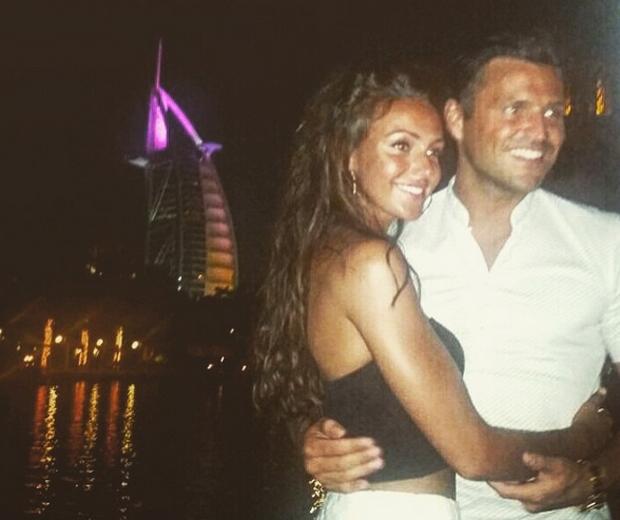 Michelle Keegan and Mark Wright honeymoon in Dubai