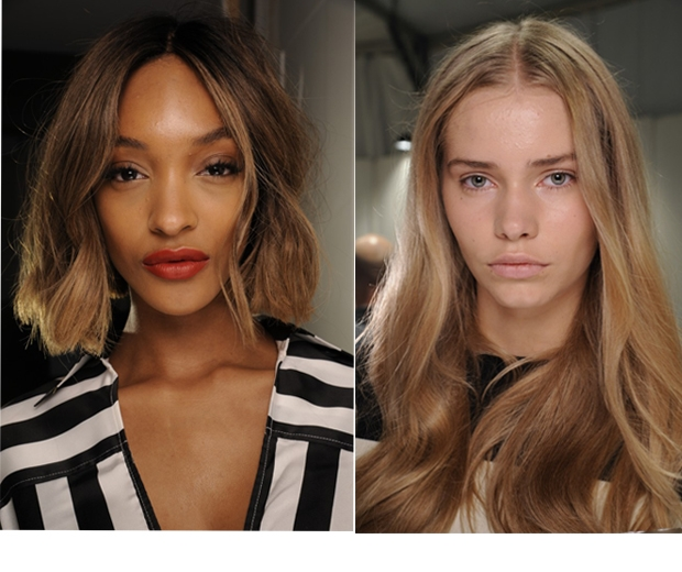 Beachy waves on the SS15 Catwalk