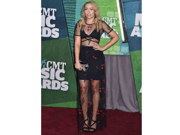 Brandi Cyrus appears at CMT Awards