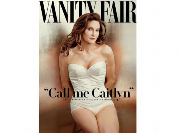 Caitlyn Jenner on the cover of Vanity Fair magazine