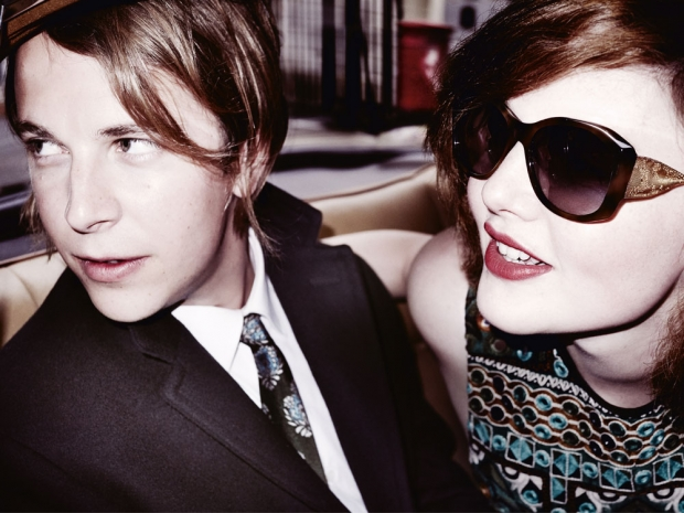 Another shot from Burberry's amazing new campaign.
