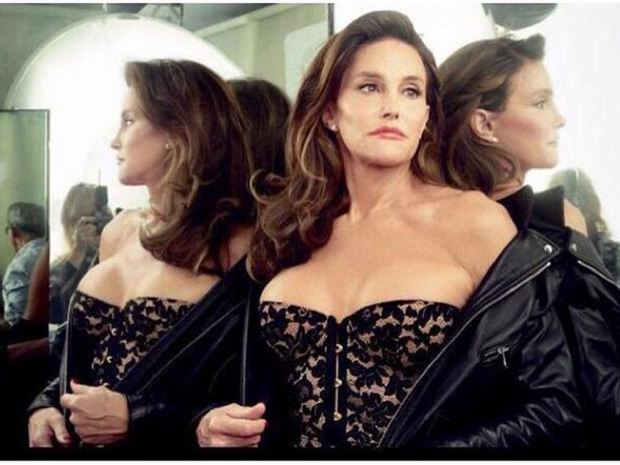 Caitlyn Jenner in her Vanity Fair shoot.