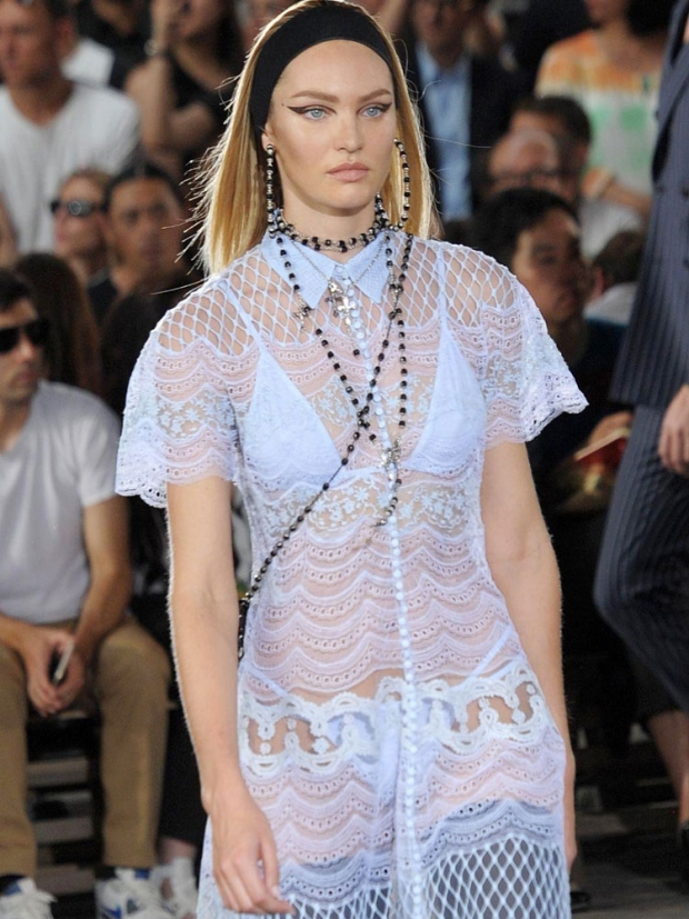 Candice Swanepoel at Givenchy