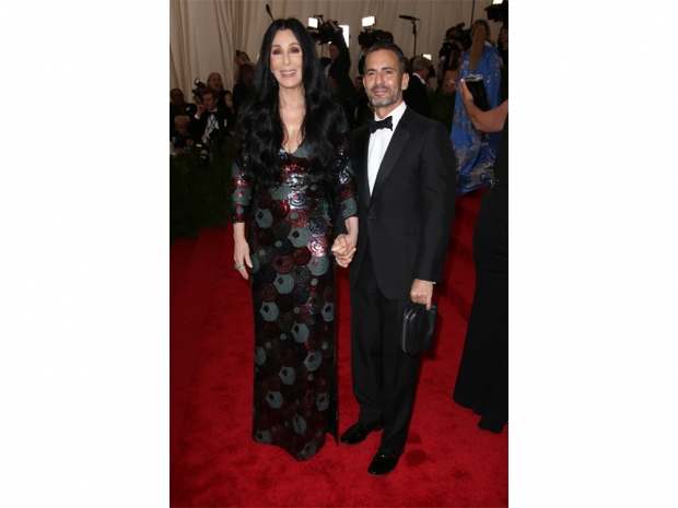 Cher and Marc Jacobs at the Met Gala
