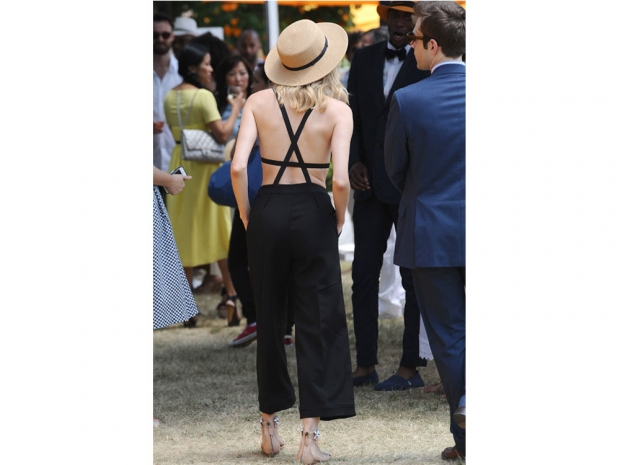 Diane Kruger jumpsuit Veuve Cliquot Polo