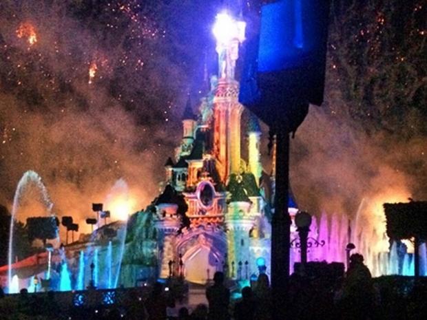 Disneyland Paris firework show