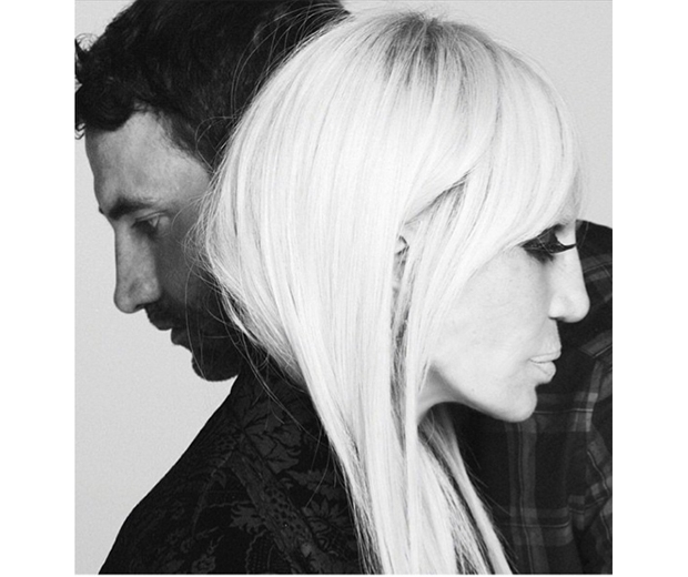 Donatella Versace stars alongside Ricardo Tisci in Givenchy's FW15 campaign