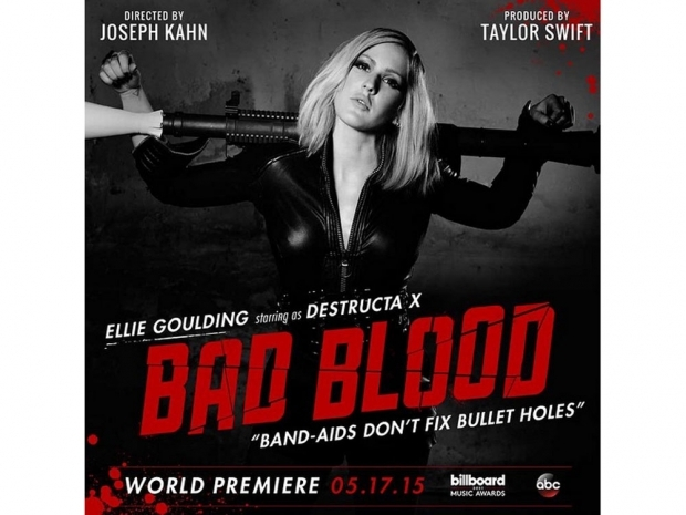 Ellie Goulding even appears in taylor swift's Bad Blood video