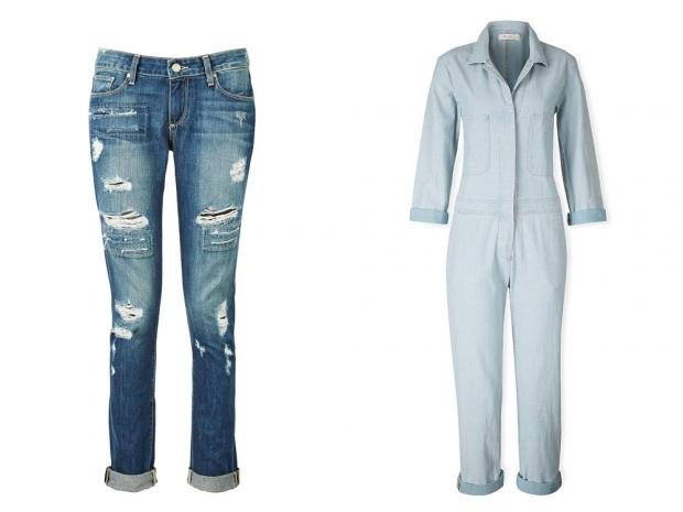 Paige denim jeans and MiH jumpsuit