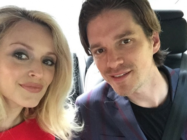 Fearne Cotton and her husband Jesse Wood in London