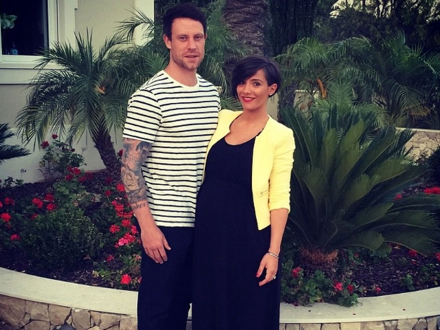 Frankie Bridge and husband Wayne pose on holiday in Instagram photo