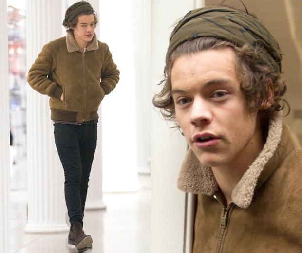 harry styles headscarf