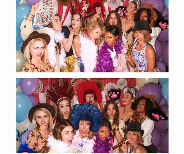 Jaime King's baby shower photobooth pictures