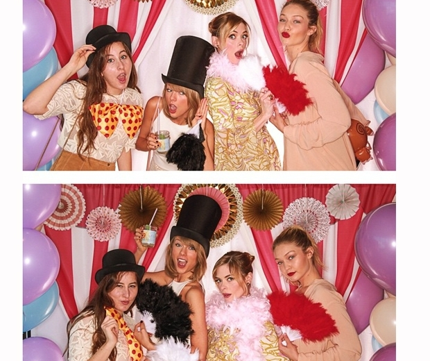 Taylor Swift at Jaime King's baby shower