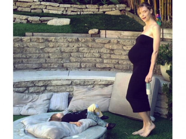 Jaime King shows off her baby bump in Instagram photo