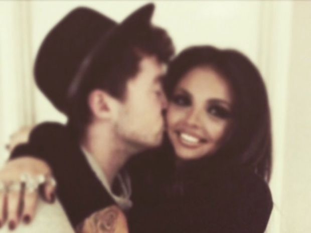 Jake Roche kisses girlfriend Jesy Nelson in Instagram photo