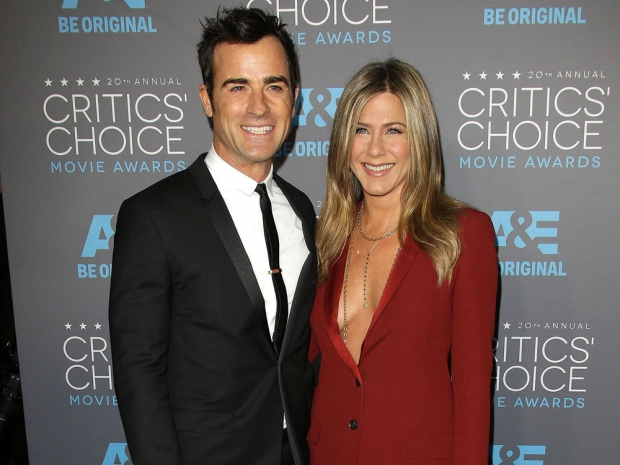 Jennifer Aniston and Justin Theroux at the Critics' Choice Awards