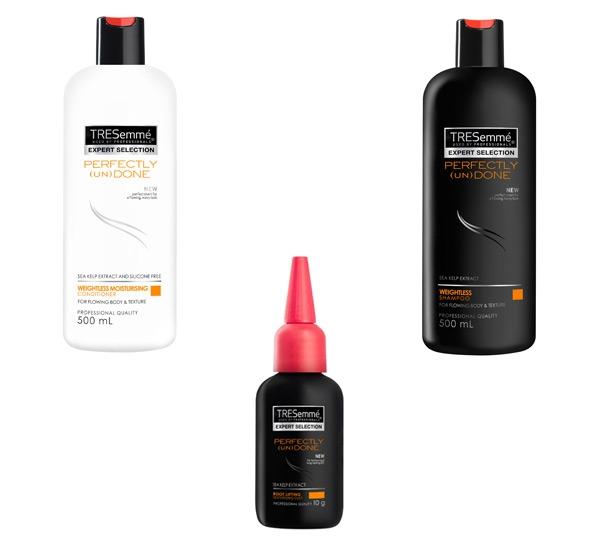 A range of TRESemmé products