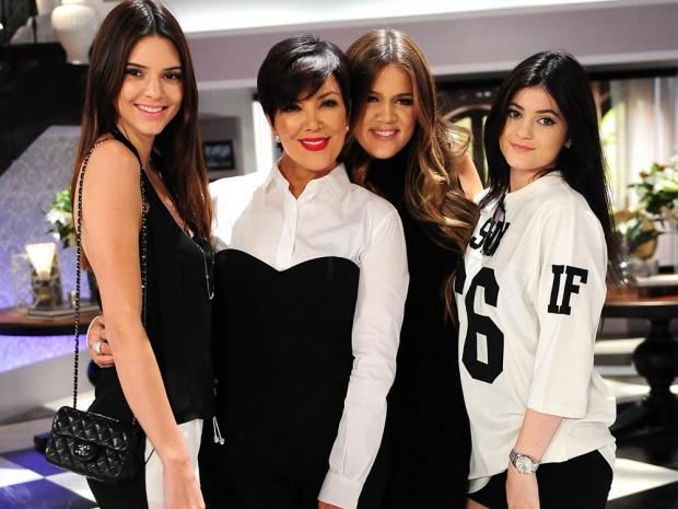 Kendall Jenner, Kris Jenner, Khloe Kardashian and Kylie Jenner