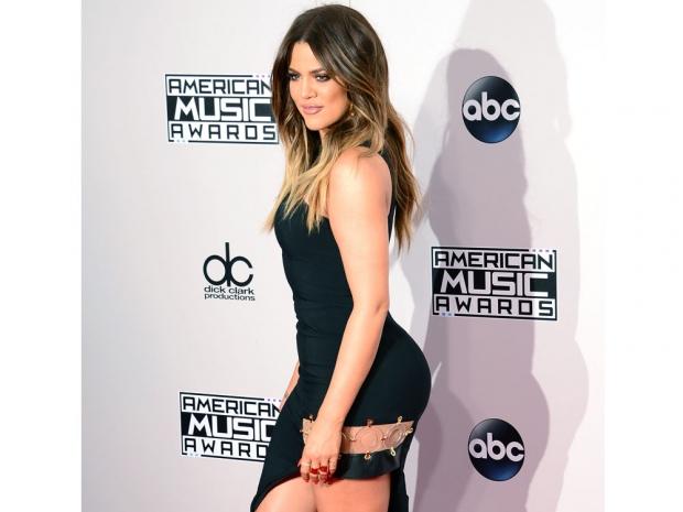 Khloe Kardashian at the American Music Awards 2014
